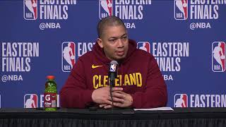 Download Tyronn Lue Postgame Interview - Game 2 | Cavaliers vs Celtics | May 15, 2018 | 2018 NBA East Finals Video