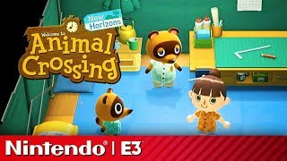 Download 24 Minutes of Animal Crossing New Horizons Gameplay | Nintendo Treehouse E3 2019 Video