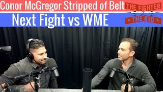 Download Brendan Schaub on Conor McGregor Being Stripped of 145 Pound Belt and His Next Fight is vs WME Video