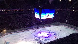 Download Golden Knights vs Leafs intro in T-Mobile arena Video