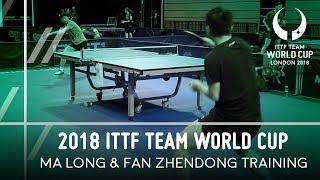 Download 2018 ITTF Team World Cup | Ma Long & Fan Zhendong Training Video