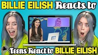 Download Billie Eilish Reacts To Teens React To Billie Eilish Video