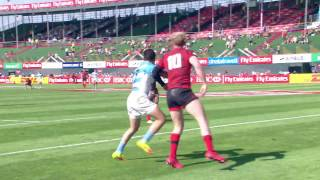Download Basketball pass gives Wales cracking try in Dubai! Video