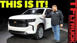 Download Breaking News - The All-New 2021 Chevy Tahoe & Suburban Go Big and Bold With Diesel Power! Video
