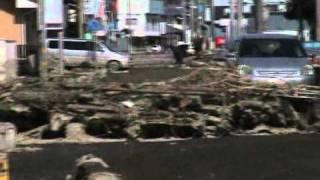 Download Tsunami In Oarai Ibaraki Japan. Video