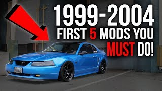 Download First 5 Modifications You MUST DO On a 1999-2004 Mustang! Video
