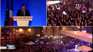 Download FRANÇOIS HOLLANDE ÉLU PRÉSIDENT: 6 MAI 2012 À TULLE .avi Video