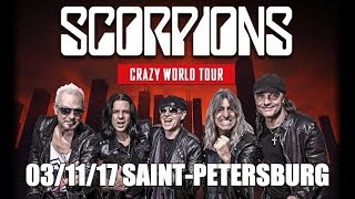 Download Scorpions 03.11.2017 Saint-Petersburg Russia Full Show Live HD Video