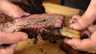 Download Texas Style BBQ Beef Ribs! Video