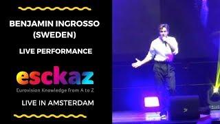 Download ESCKAZ in Amsterdam: Benjamin Ingrosso (Sweden) - Dance You Off Video
