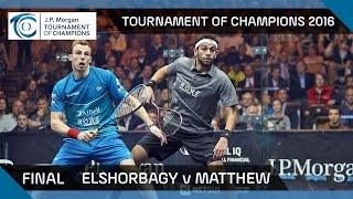 Download Squash: Tournament of Champions 2016 - Men's Final Highlights: Elshorbagy v Matthew Video