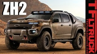 Download Chevy Colorado ZH2: Is this Hybrid Hydrogen-Powered 4X4 Truck the Humvee of the Future? Video