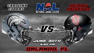 Download Carolina Cobras vs Orlando Predators Video