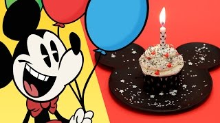Download Mickey Mouse Birthday Cupcake | Dishes by Disney | Disney Family Video