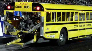 Download Wheel Standing School Bus Video