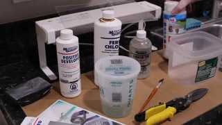 Download Circuit Board Prototyping Part 1: Exposing, Developing, Etching and Tin Plating a PCB Video