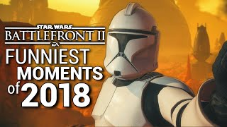 Download Star Wars Battlefront 2 FUNNIEST MOMENTS of 2018 (Part 2) Video