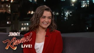 Download Maisie Williams Knows the End to Game of Thrones Video