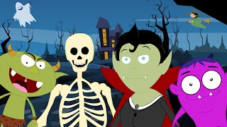 Download halloween songs scary song kids halloween nursery rhymes videos for children Video