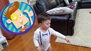 Download MONSTER HOME INTRUDER CHASES BABY + Fall Down, Go Boom Funny Fails 💥 (FUNnel Vision Vlog / Skit) Video