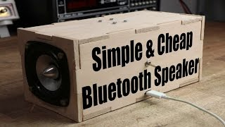 Download Make your own Simple & Cheap Portable Bluetooth Speaker Video