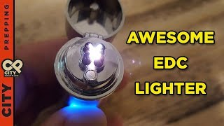 Download 5 reasons I carry a double plasma arc lighter in my EDC Video