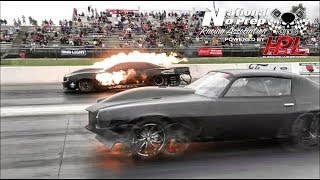 Download Kye Kelley AfterShock vs Monza twin turbo Camaro No Prep Kings 2 Topeka Kansas Video