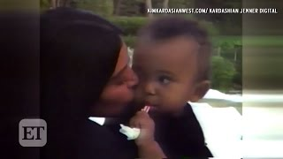 Download Kim Kardashian Shares Touching Family Videos with Kanye West and Kids on Her App! Video