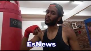 Download Justin Bieber Whoops Sparring Partner - EsNews Boxing Video