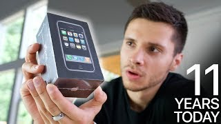 Download Original iPhone Unboxing! 11 Years Old Today Video