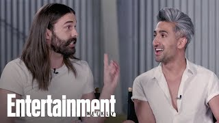 Download Which 'Queer Eye' Guy Got Hugged So Hard He Got Hurt? | Entertainment Weekly Video