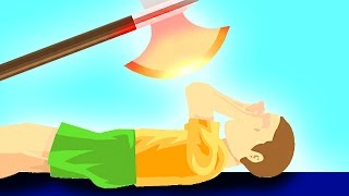 Download EXPERIMENT Glowing 1000 degree KNIFE vs KID! (Happy Wheels) Video