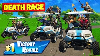 Download *NEW* DEATH RACE Custom Gamemode In Fortnite Battle Royale! Video