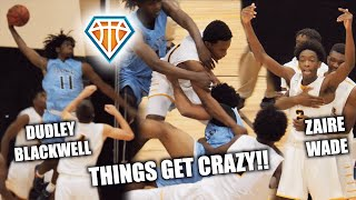 Download GAME GETS SO HEATED IT WAS CANCELLED?! 😱 Zaire Wade Breaks Up Fight | D-Wade, JRich & UD Watch Video
