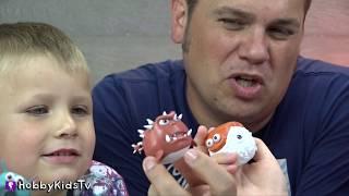 Download NEW De-Formers Video Game + Skit! Sumo Boppers + Family Fun HobbyKidsTV Video