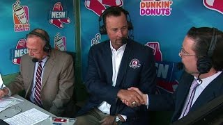 Download CLE@BOS: Wakefield visits booth, reflects on career Video