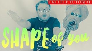 Download SHAPE OF YOU - ED SHEERAN (UKULELE TUTORIAL!) Video