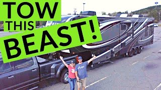 Download Towing a Large 5th Wheel RV | Full Time RV Truck and Towing! | Changing Lanes! Video