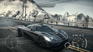 Download Need For Speed: Rivals PC: Fully Upgraded Koenigsegg Agera One:1 Racer Gameplay Video