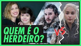Download DAENERYS OU JON SNOW: QUEM É O HERDEIRO DO TRONO DE FERRO? | GAME OF THRONES Video