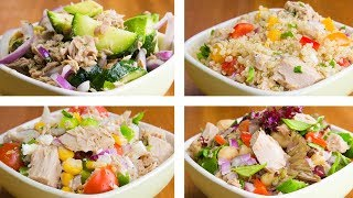 Download 4 Tuna Salad For Weight Loss | Easy Tuna Recipes Video
