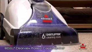 Download Bissell-34T2E-Cleanview-ProHeat-Carpet-Cleaner.wmv Video