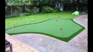 Download Artificial Grass Golf Putting Greens in the UK Video