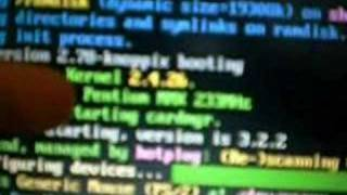 Download Linux running on old Laptop Video