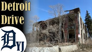 Download Unbelievable Detroit Drive with Abandoned Buildings Video