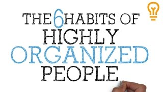 Download How to be Organized for School, College or Life - The 6 Habits of Highly Organized People Video