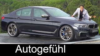 Download BMW 5-Series G30 5er FULL REVIEW test driven all-new neu gen 2017/2018 - Autogefühl Video