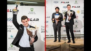 Download Exciting Battle Carlsen's Fortress Won Him Chess960 World champion Title Video