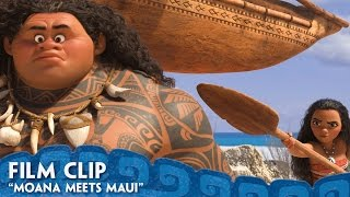 Download ″Moana Meets Maui″ Clip - Moana Video