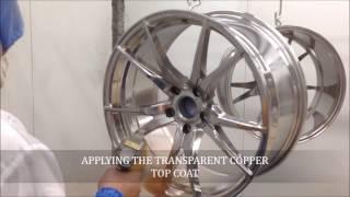 Download POWDERCOATING WHEELS TRANSPARENT COPPER Video